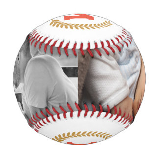 Father's Day Photo Personalized Baseball