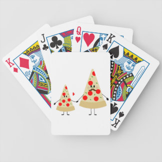 fathers day pizza bicycle playing cards