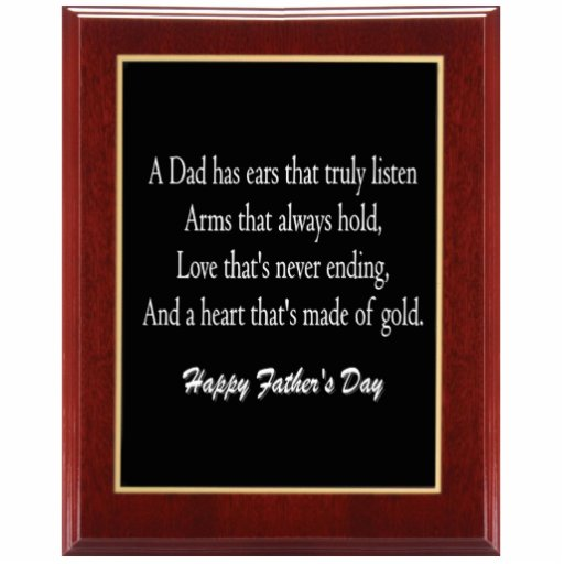 Father's Day Plaque 1 Key Chain Cut Out
