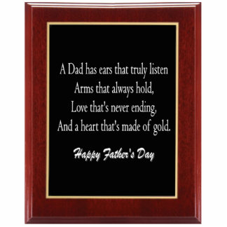Father's Day Plaque 1 Keychain