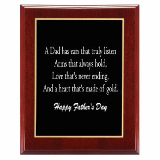 Father's Day Plaque 1 Magnet