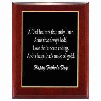 Father's Day Plaque 1 Sculpture