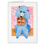 Father's Day Poodle Pampering Card