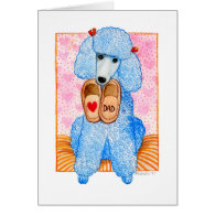 Father's Day Poodle Pampering Cards