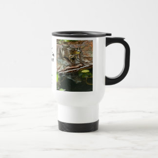 Father's Day Prince Frog Photo with Text 15 Oz Stainless Steel Travel Mug