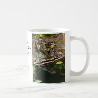 Father's Day Prince Frog Photo with Text Classic White Coffee Mug
