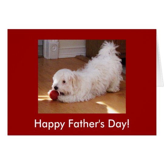 Father's Day Pup Card