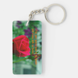 Father's Day Rectangle Acrylic Key Chains