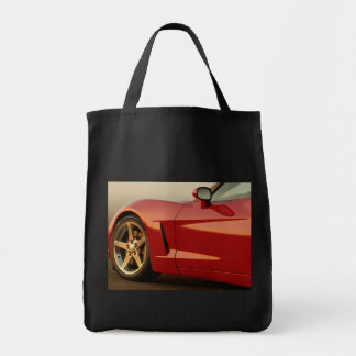 Father's Day Red Corvette Gifts Tote Bag