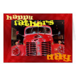Father's Day Retro Special Greeting Card