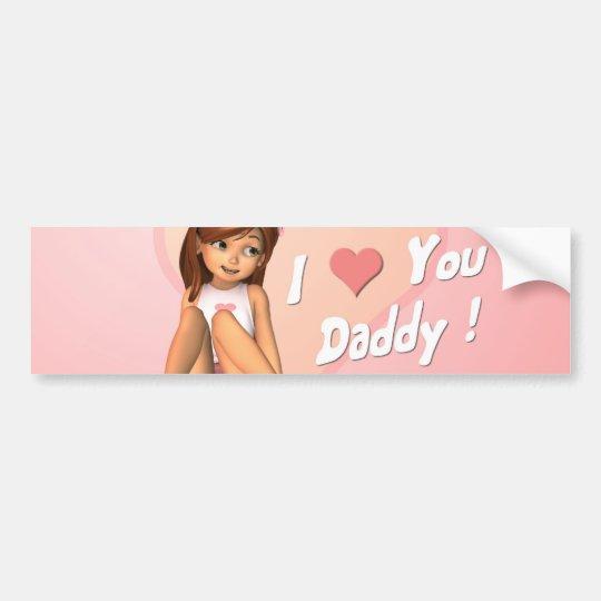 Fathers Day Sadie Bumper Sticker