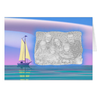 Father's Day - Sail Away (photo frame) Card