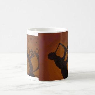 Father's Day Saxiphone Jazz Art Coffee Mug