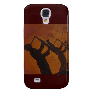 Father's Day Saxiphone Jazz Art Samsung Galaxy S4 Case