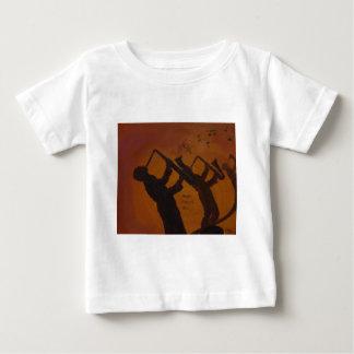 Father's Day Saxiphone Jazz Art Tee Shirt