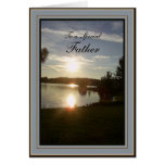 Father's Day Scenic Sunset Greeting Cards