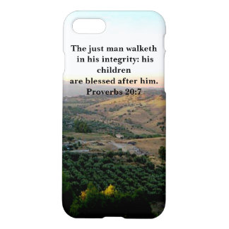 Father's Day Scripture & Italy iPhone 7 Case