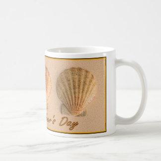 Father's Day Seashell Mug