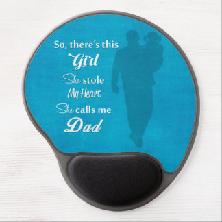 "Father's Day ""So There's This Girl"" Gel Mouse Pad"