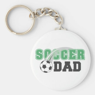 Father's Day Soccer Dad Keychain