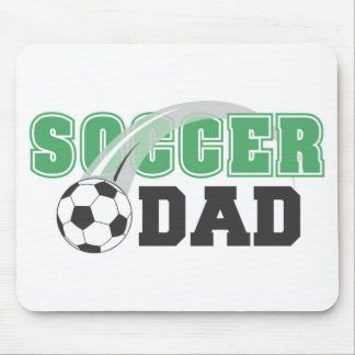 Father's Day Soccer Dad Mousepad