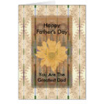 Father's Day ~ Southwest Chrysanthemum Greeting Card