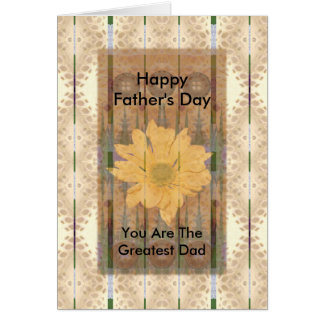 Father's Day ~ Southwest Chrysanthemum Card