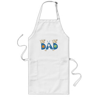 Father's Day Sports Dad Long Apron