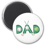 Father's Day Sports Dad Refrigerator Magnets
