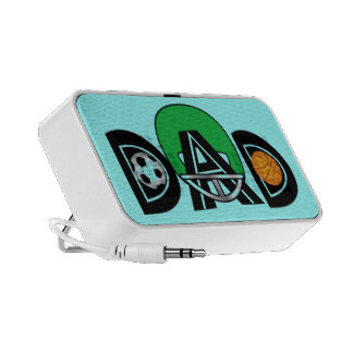 Father's Day Sports Dad iPod Speaker