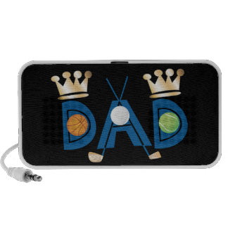 Father's Day Sports Dad Speaker System