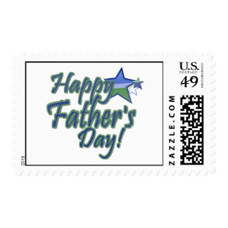 fathers day-StarDad Postage Stamps