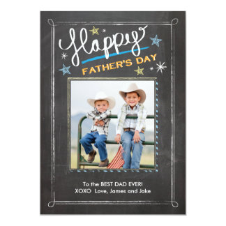 Father's Day Stars Card