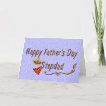 Father's Day Stepdad, Western Cowboy Card