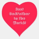 Father's Day Sticker for Godfather