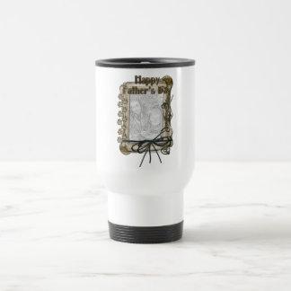 Fathers Day - Stone Paws - ADD YOUR PET PHOTO Coffee Mug