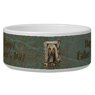 Fathers Day - Stone Paws - Afghan Bowl