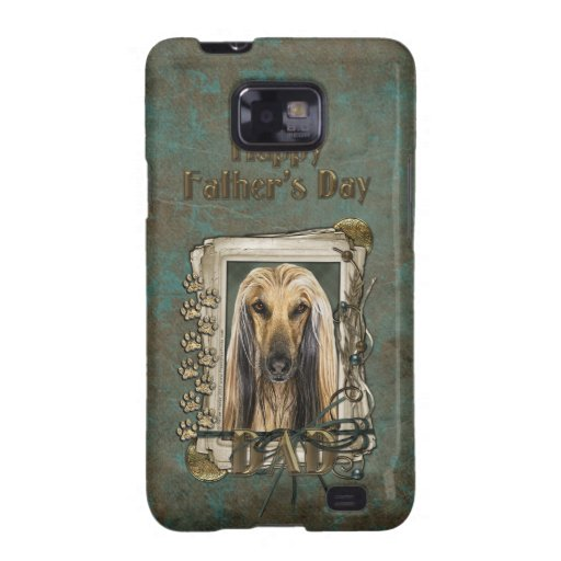 Fathers Day - Stone Paws - Afghan Samsung Galaxy Cases