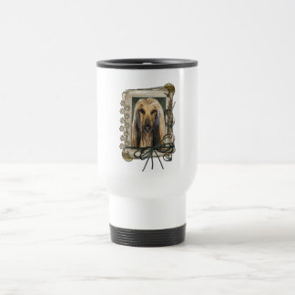Fathers Day - Stone Paws - Afghan 15 Oz Stainless Steel Travel Mug