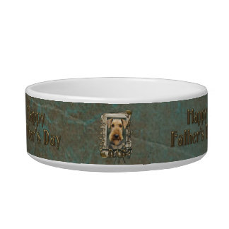 Fathers Day - Stone Paws - Airedale Bowl
