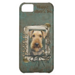 Fathers Day - Stone Paws - Airedale Case For iPhone 5C