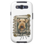 Fathers Day - Stone Paws - Airedale Galaxy S3 Cases