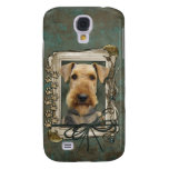 Fathers Day - Stone Paws - Airedale Galaxy S4 Case