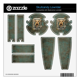 Fathers Day - Stone Paws - Airedale Skullcandy Lowrider Skins