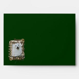 Fathers Day - Stone Paws - American Eskimo - Dad Envelope