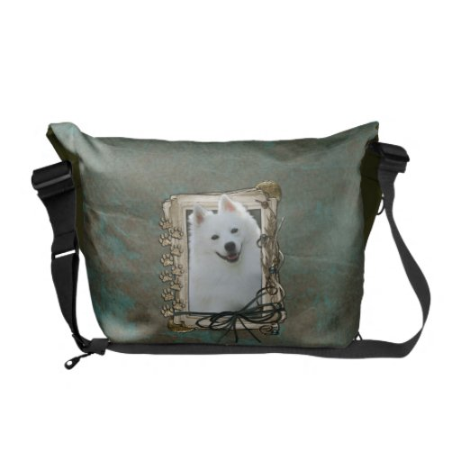 Fathers Day - Stone Paws - Australian Shepherd Courier Bags