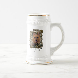 Fathers Day - Stone Paws - Australian Terrier Beer Stein