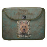 Fathers Day - Stone Paws - Australian Terrier Sleeve For MacBooks