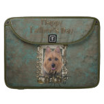 Fathers Day - Stone Paws - Australian Terrier MacBook Pro Sleeve