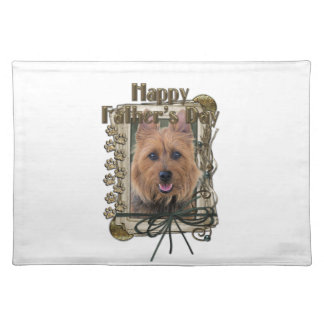 Fathers Day - Stone Paws - Australian Terrier Placemat